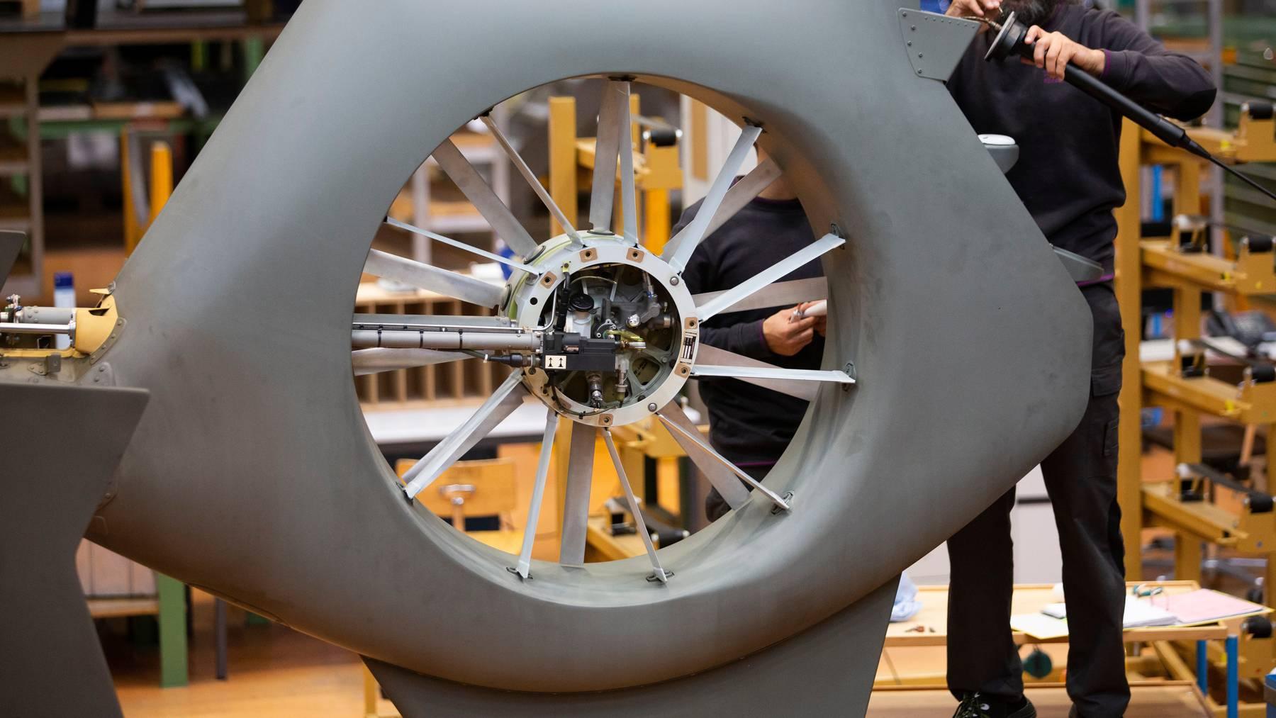 Die Schweizer Rüstungsindustrie konnte ihre Exporte in den ersten drei Quartalen steigern. (Symbolbild)