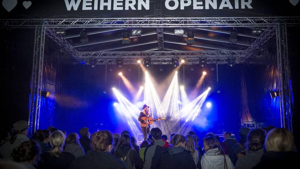 Das Weihern Openair Festival kann nicht mehr auf Dreilinden stattfinden. (Archiv)