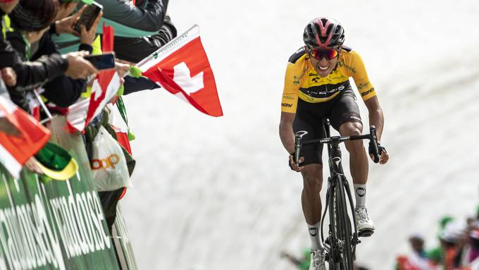 Der Kolumbianer Egan Bernal gewann die Tour de Suisse 2019.