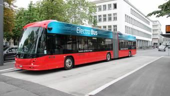 Mit einem Elektrobus der Bellacher Firma Hess wurden auf dem Streckennetz der BOGG Testfahrten durchgeführt; Bilanz: positiv.