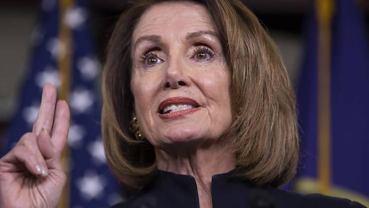 Die demokratische Mehrheitsführerin im US-Repräsentantenhaus: Nancy Pelosi.