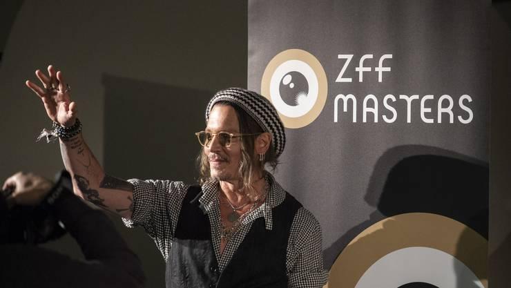 Johnny Depp am ZFF 2018
