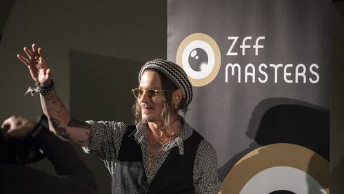 Johnny Depp am ZFF 2018