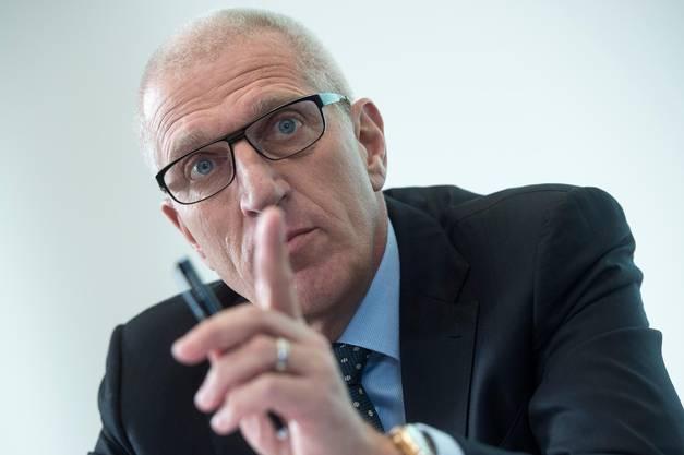 Pierin Vincenz, ehemaliger Vorsitzender der Geschäftsleitung Raiffeisen Gruppe.