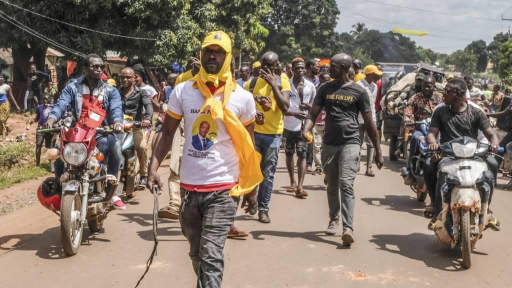 Guinea wählt Präsidenten im Schatten von Gewalt und Spannungen