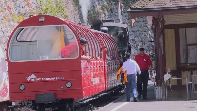 Brienzer Rothorn-Bahn geht auf Reisen