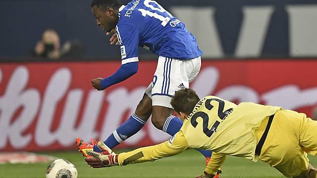 Obasi schliesst ab, Hertha-Keeper Jarstein streckt sich vergeblich