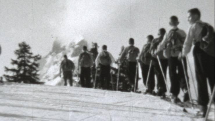 Einige Impressionen aus dem Film, der während des Lagers 1945 gedreht wurde.
