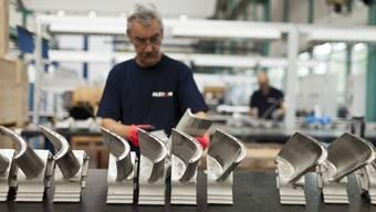 Für die Alstom-Mitarbeiter ist das Festhalten an den Standorten im Aargau eine frohe Kunde. (Archiv)