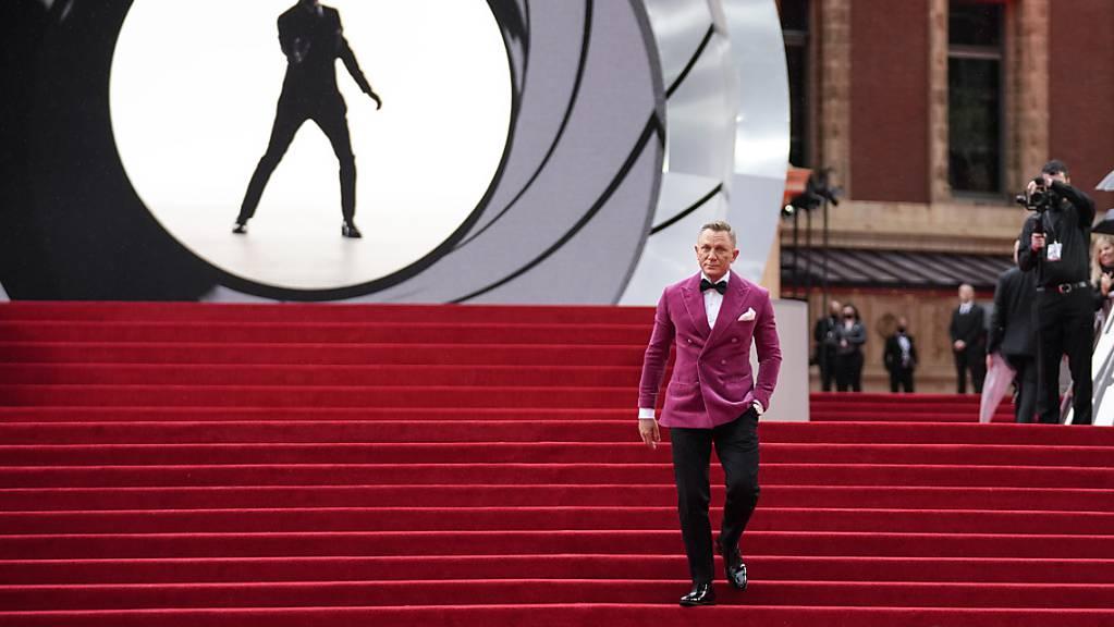 Daniel, hier auf der Bond-Weltpremiere, soll auf Hollywoods «Walk of Fame» mit einer Sternenplakette verewigt werden.