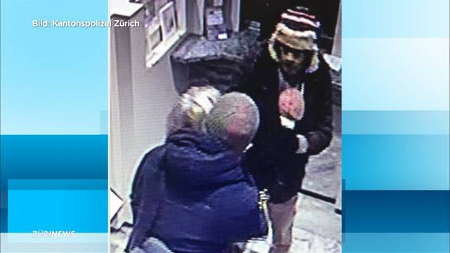 Adliswil (ZH): Mann mit Babytragetasche überfällt Bank
