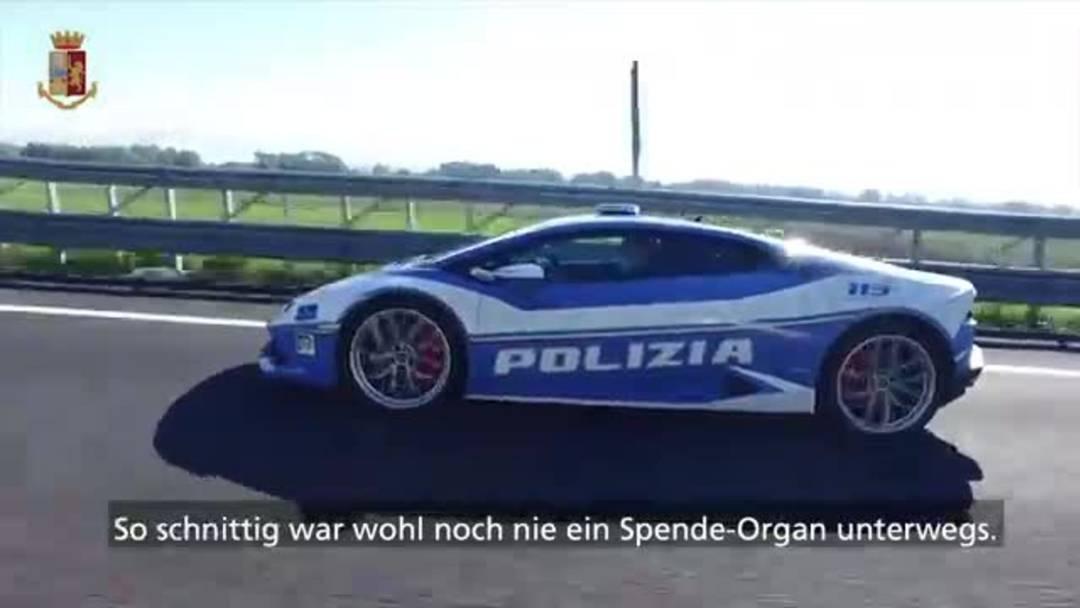 Spende-Organ im Sportwagen: Exklusiver Transport für eine Niere