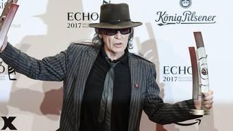 Udo Lindenberg ist der grosse Abräumer bei den deutschen Musikpreisen Echo.