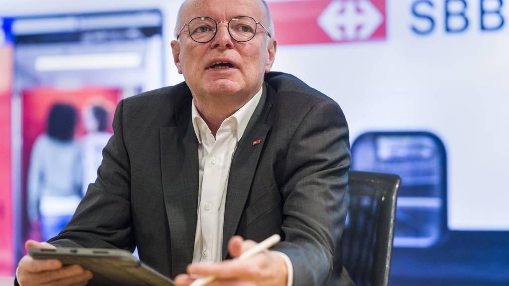 «Corona ist nur eine Phase»: SBB-Chef rechnet mit baldiger Erholung des ÖV