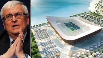 Fifa-Mitglied Theo Zwanziger glaubt nicht an eine Durchführung der WM 2022 in Qatar.