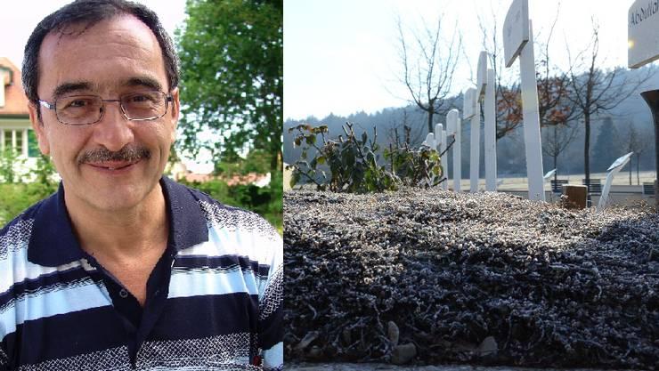 Cengiz Yükseldi, Präsident Islamische Gemeinschaft Dietikon, will weiter für ein muslimisches Grabfeld in Dietikon kämpfen