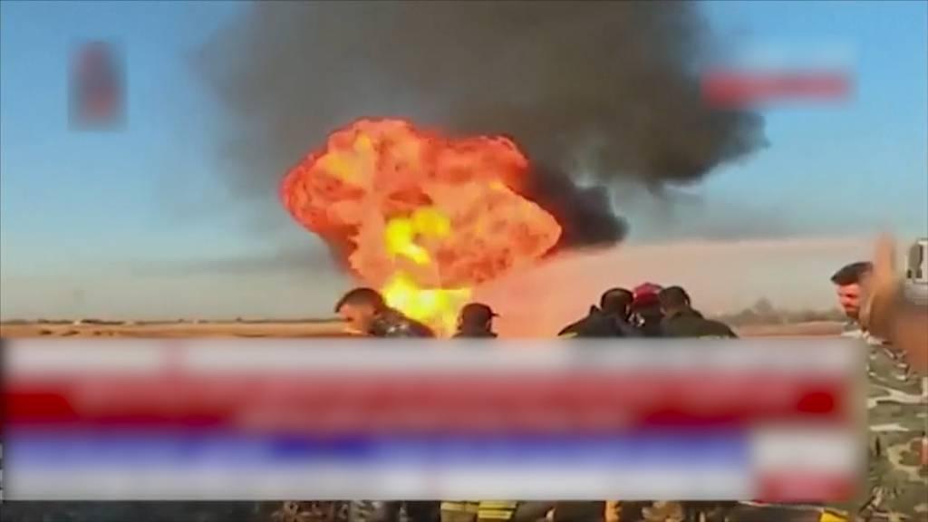 Gas-Pipeline in Syrien explodiert: Stromausfall im ganzen Land