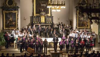 Gemeinschftskonzert der Spielgemeinschaft MG Oberbuchsiten, MG Kestenholz, mit dem Männerchor, dem Kirchenchor und «Alcanto» in der Kirche Oberbuchsiten.