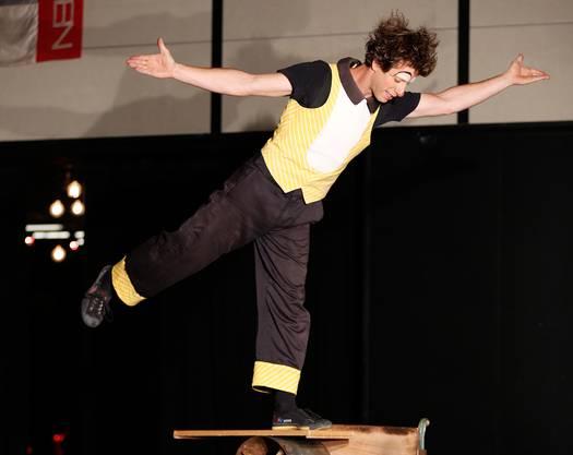 Auch die Clowns des Zirkus Mugg zeigten ihr Können.