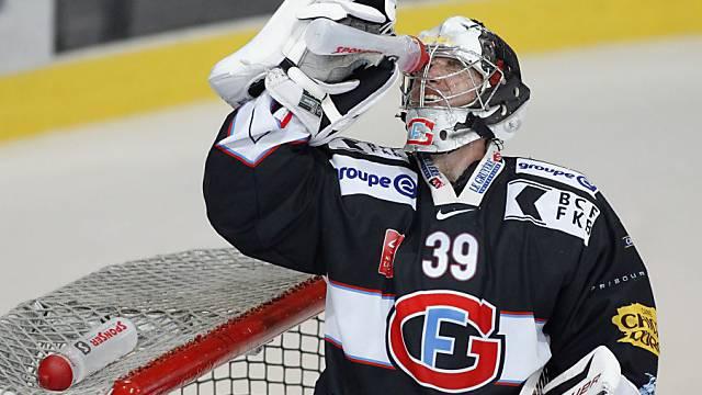 Cristobal Huet trägt auch in dieser Saison das Dress von Fribourg.