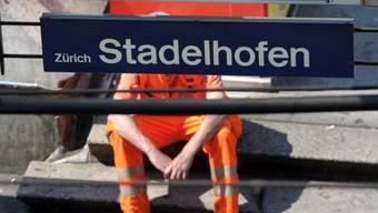 Kein Verkehr zwischen Bahnhöfen Stadelhofen und Stettbach