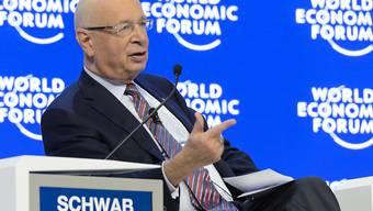 WEF-Gründer Klaus Schwab bedankte sich zum Abschluss des 46. Weltwirtschaftsforums bei allen Teilnehmenden und Organisatoren.