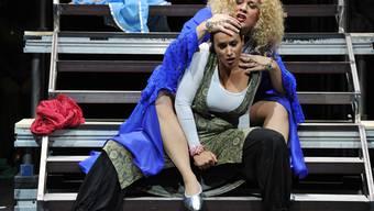 Aktuelle Inszenierung der Oper Aida von Verdi