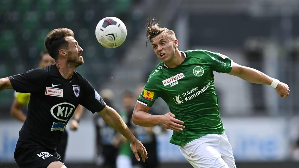FC St.Gallen siegt mit 4 zu 1 gegen Aarau