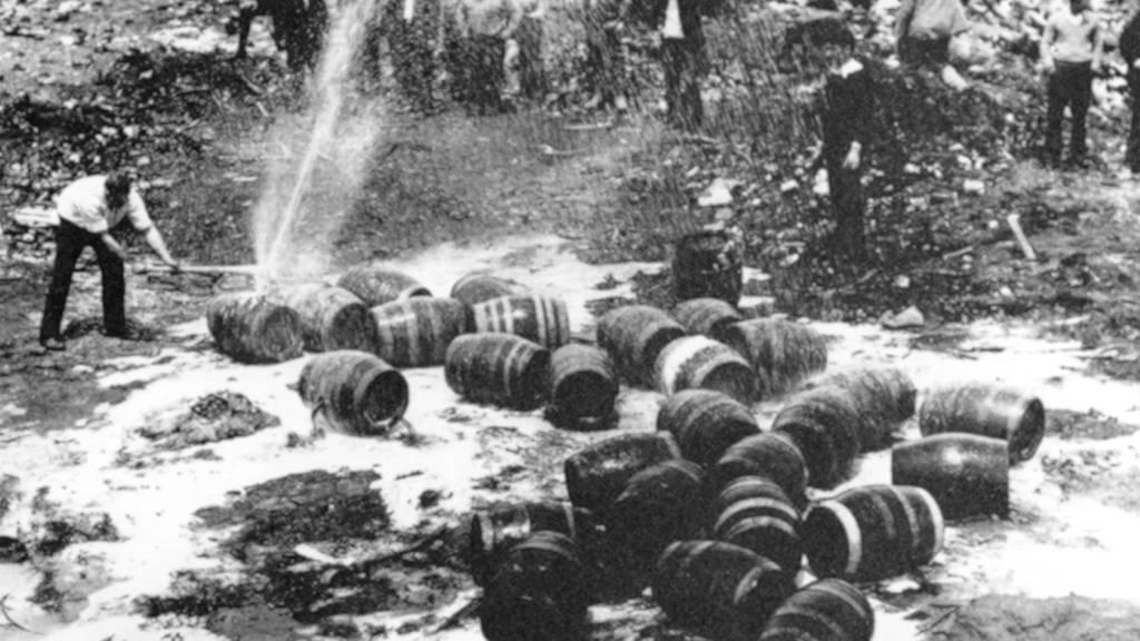 14 Jahre Alkohol-Verbot in den USA
