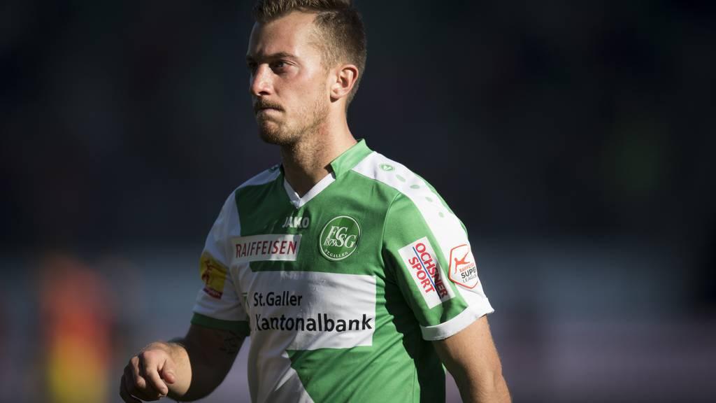 Marco Aratore bleibt dem FC St.Gallen treu.