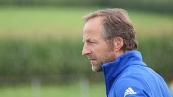 Nach einer Saison kehrt Trainer Kurt Müller mit dem FC Sarmenstorf in die 3. Liga zurück (Bild: Ruedi Burkhard / Archiv)