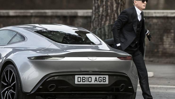Der kanadische Milliardär und Formel-1-Rennstallbesitzer Lawrence Stroll kauft sich beim kriselnden Luxusautobauer Aston Martin ein, der die James-Bond-Autos herstellt. (Archiv)