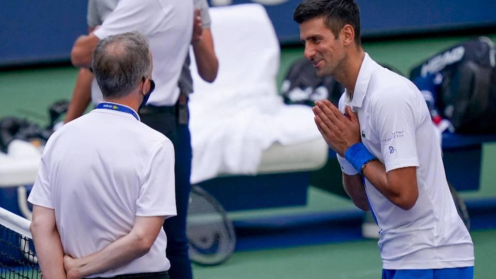 Djokovic disqualifiziert: «Ob bewusst oder unbewusst geschlagen, spielt keine Rolle»