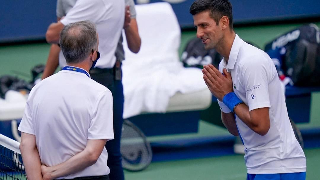 """Djokovic disqualifiziert: """"Ob bewusst oder unbewusst geschlagen, spielt keine Rolle"""""""