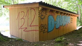 Vandalismus auf dem Rastplatz der Bürgergemeinde Mümliswil