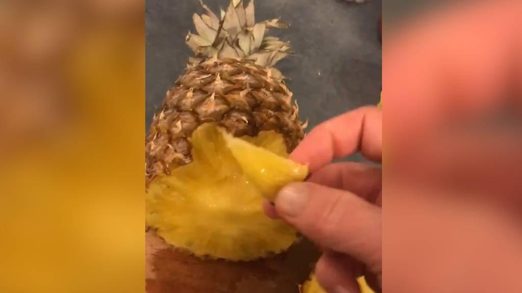 Haben wir Ananas unser Leben lang falsch gegessen?