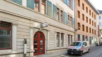 Im Badener Amtshaus findet das Treffen diesen Donnerstag statt.