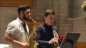 Bettlacher Musikschüler.