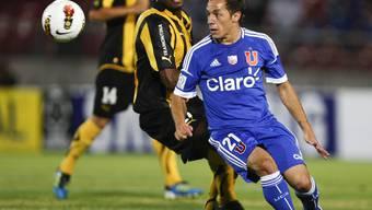 Der Chilenische Mittelfeldspieler Marcelo Diaz stösst zur FCB-Equipe
