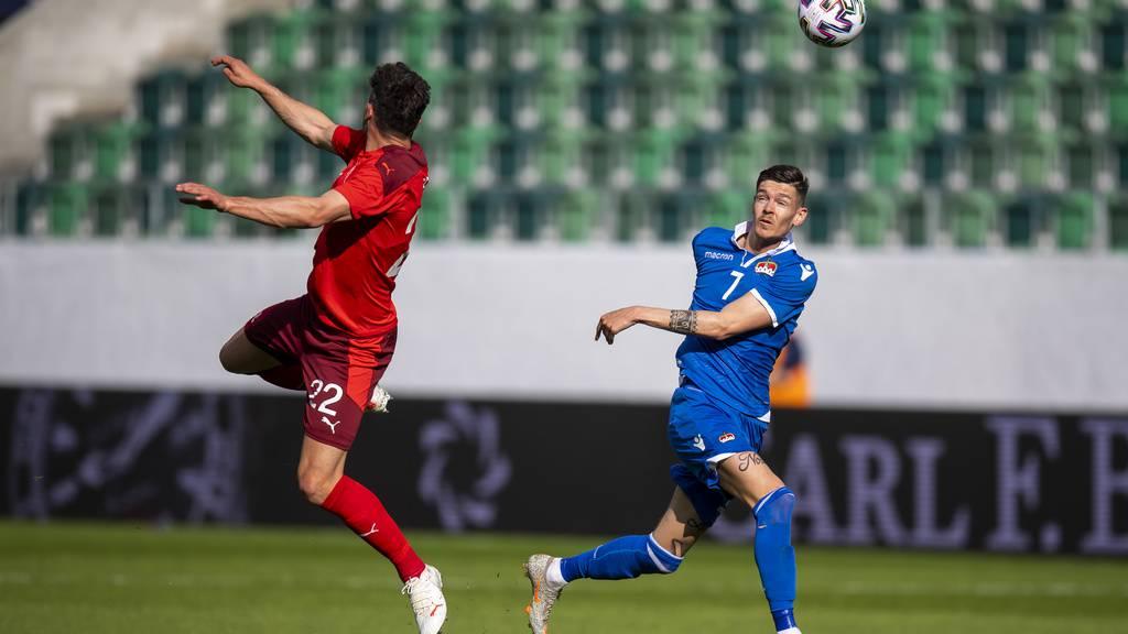 Schweiz gewinnt letztes Testspiel vor der EM gegen Liechtenstein mit 7:0