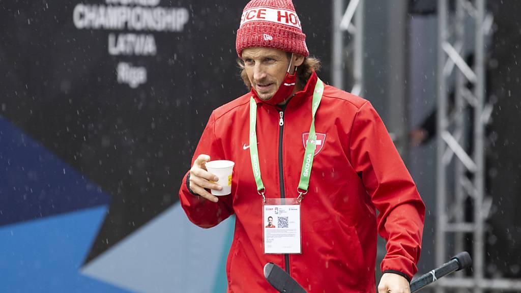 Patrick Fischer visiert mit der Nationalmannschaft den Gruppensieg an - dazu bedarf es eines Sieges gegen Russland