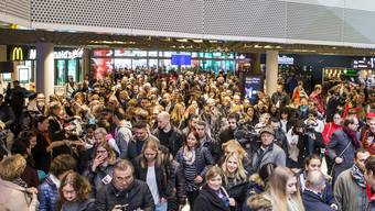 Eröffnung der «Mall of Switzerland» (08.11.2017)