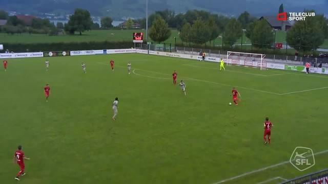 Challenge League, 2018/19, 6 . Runde, FC Rapperswil Jona – FC Aarau, 2:1,  Edmond Ramadani