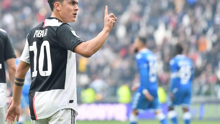 Paulo Dybala brachte Juventus Turin auf die Siegesstrasse