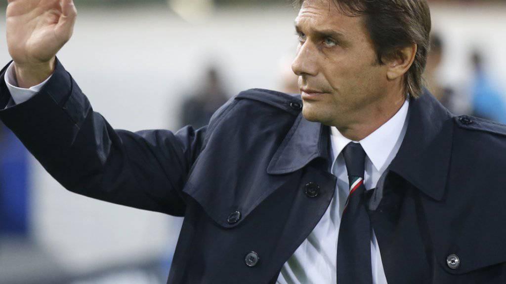Antonio Conte wird sich nach der EM in Frankreich als italienischer Nationaltrainer verabschieden