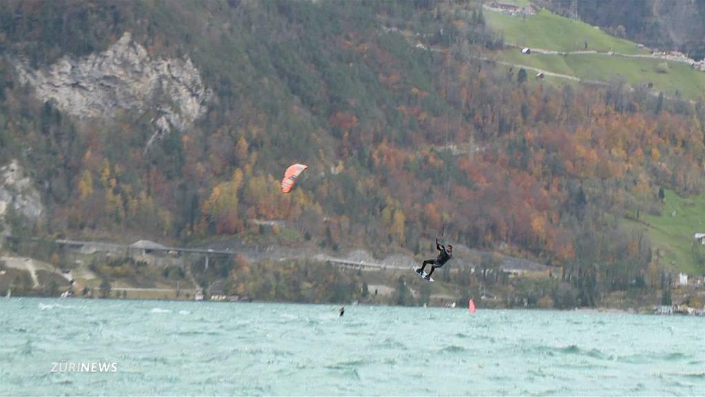 Föhnsturm Luis fegt durch die Schweiz