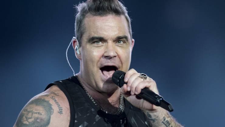 Bei seinem Auftritt im Zürcher Letzigrund am Samstagabend fiel es nicht auf, doch der britische Popstar Robbie Williams kämpft mit Depressionen und einer Essstörung.