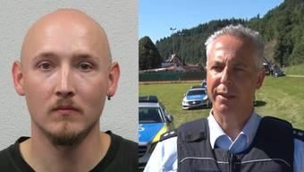 Thumb for 'Schwarzwald (DE): Polizei fahndet mit Grossaufgebot nach Yves Rausch'