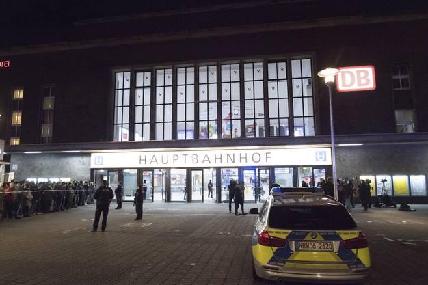Hier geschah die Tat: der Düsseldorfer Hauptbahnhof.