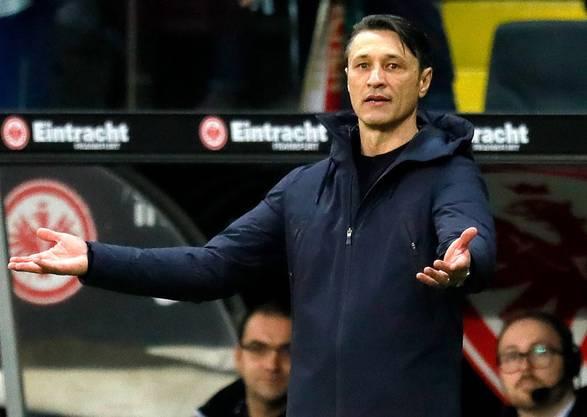 Was soll ich machen? Bei Niko Kovac herrschte am Samstag Ratlosigkeit: Eine Handschrift und Weiterentwicklung der Bayern war unter ihm nicht zu erkennen.